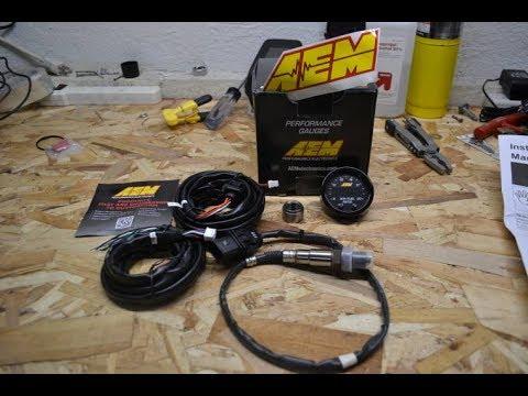 DIY Wideband Air/Fuel ratio gauge install on a 2004 Subaru STi