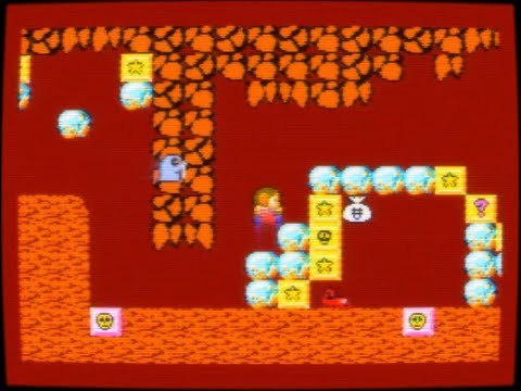 SMS Alex Kidd In Miracle World