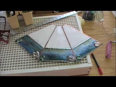 The Making Of A Stained Glass Lamp Youtube