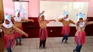Tarian Apuse Dari Papua Oleh Kelas 5b Sdn Cibabat 5  2017-2018