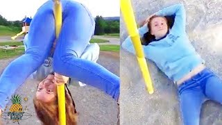Try Not To Laugh 🔥When Jumping and Rolling Gone Wrong 😂