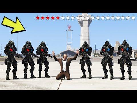 20* YILDIZDA ROBOT POLISLER GELIYOR (100% GERÇEK) - GTA 5 thumbnail