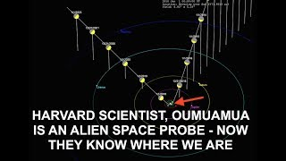 Harvard Scientist - Oumuamua is an Alien Probe, Now They Know We're Here, Space Force Red Alert