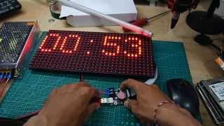 Tutorial Merakit LED Matrix TX-LU20