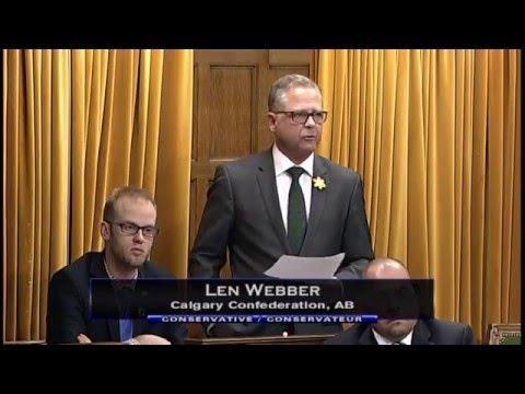 MP Len Webber - Finance Minister Ethics