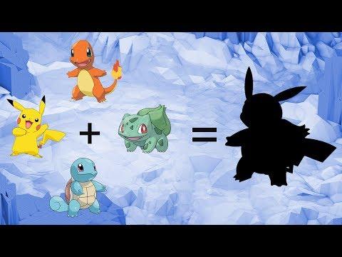 Requests #48 - Fusemon: Pikachu + Pokemon Starters Gen 1