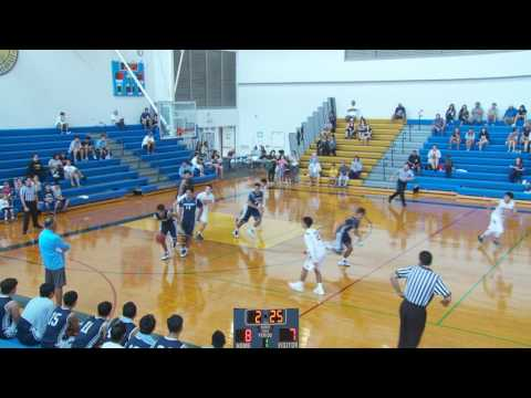 2016 Punahou Boys Basketball Invitational - Kamehameha KPL I vs Punahou II (December 29, 2016)