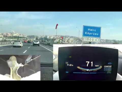 Tek Pedallı Elektrikli Araba Kullanmak ve Regen Frenleme