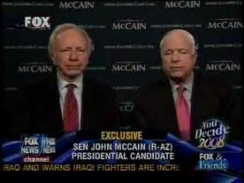 Joe Lieberman Endorses John McCain II