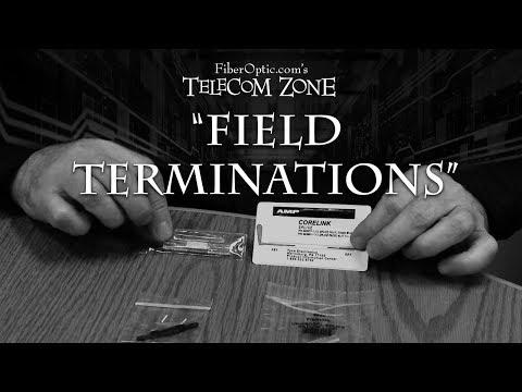 Telecom Zone - Ep 002 - How To Terminate an Optical Fiber