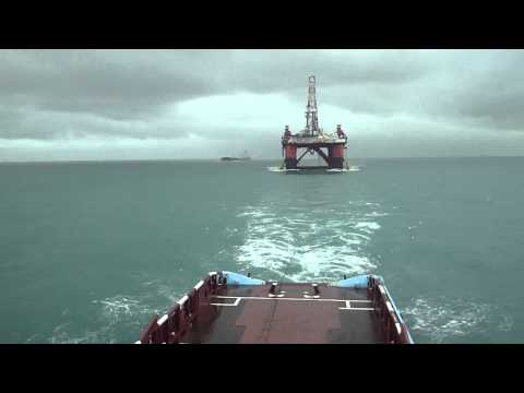 Offshore towing operation