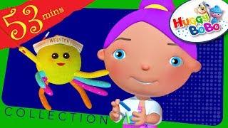 Little Miss Muffet | Plus Lots More Nursery Rhymes | By HuggyBoBo