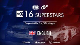 Gran Turismo Sport Top 16 Superstars - Round 16 - EMEA Region [English]