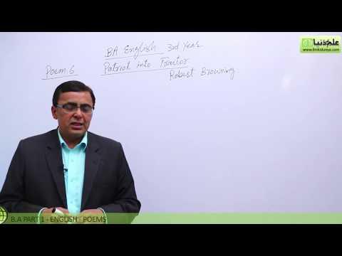 BA poem Patriot Into Traitor Lecture 2 BA Part 1 - BA English Book 1 Poem Punjab University