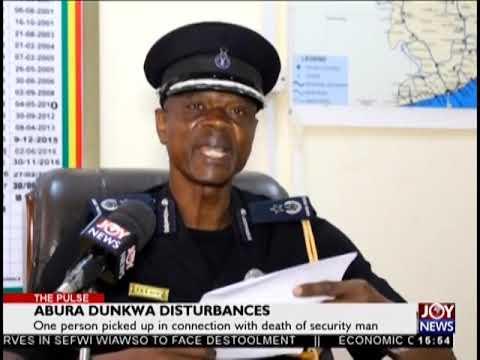 Abura Dunkwa Disturbances - The Pulse on JoyNews (25-9-18)