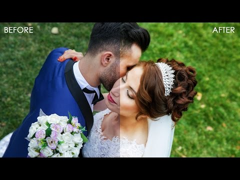 Glow & Shine Color Toning Effect - Wedding Photo Editing Photoshop Tutorial