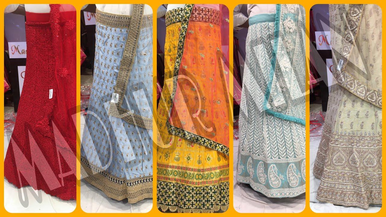 Latest Lehenga Collection of Chandni Chowk|Pastel|Designer