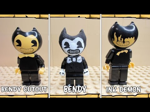 Types of characters Lego Bendy and the Ink Machine