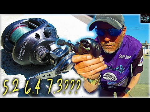 What IS The BEST GEAR RATIO For BAITCASTERS!!!!!