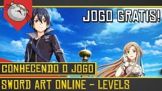 SAO Levels: Jogo Gratis Feito por um Brasileiro!- Sword Art Online: Levels [Gameplay Português PTBR]