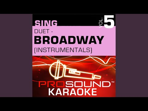 Unexpected Song (Karaoke Instrumental Track) (In the Style of Song & Dance)