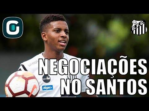 Negociações Do Elenco Do Santos | Rodrygo E Sasha- Gazeta Esportiva (08/06/18)