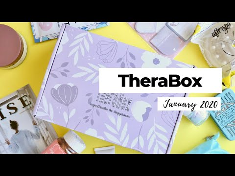 TheraBox Unboxing January 2020: Wellness Subscription Box