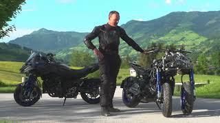 Test ride Yamaha Niken