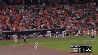 Baltimore Orioles Vs Atlanta Braves Matt Wieters Walk Off Home Run 2015