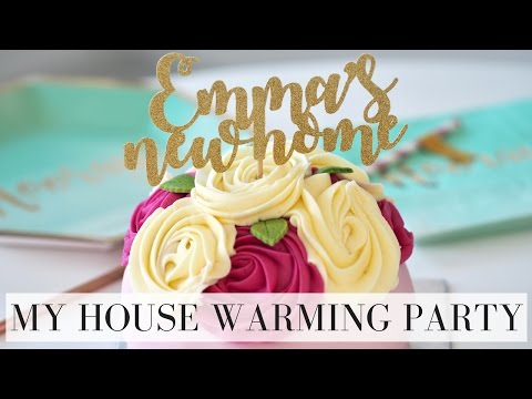 MY HOUSE WARMING PARTY | VLOG | Emma Mumford