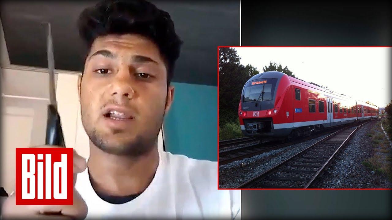 Video des Attentäters - ISIS-Anschlag bei Würzburg