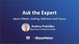 Testing with JMeter, Gatling, Selenium & Taurus