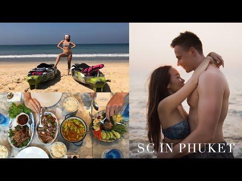 เที่ยวชิวภูเก็ตกับแฟน, กินอาหารใต้, เล่นน้ำทะเล | SCinPHUKET