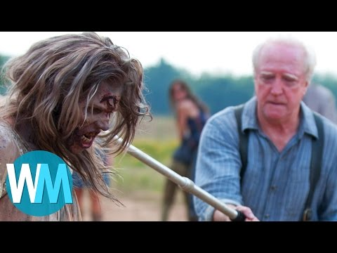 See the Top 10 Most Shocking Walking Dead Moments!