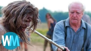 Top 10 Most Shocking Walking Dead Moments