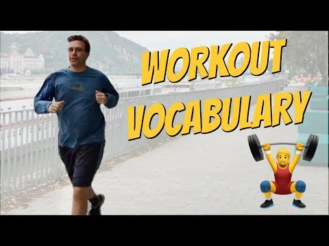 Exercise Vocabulary | Important Words for Working Out