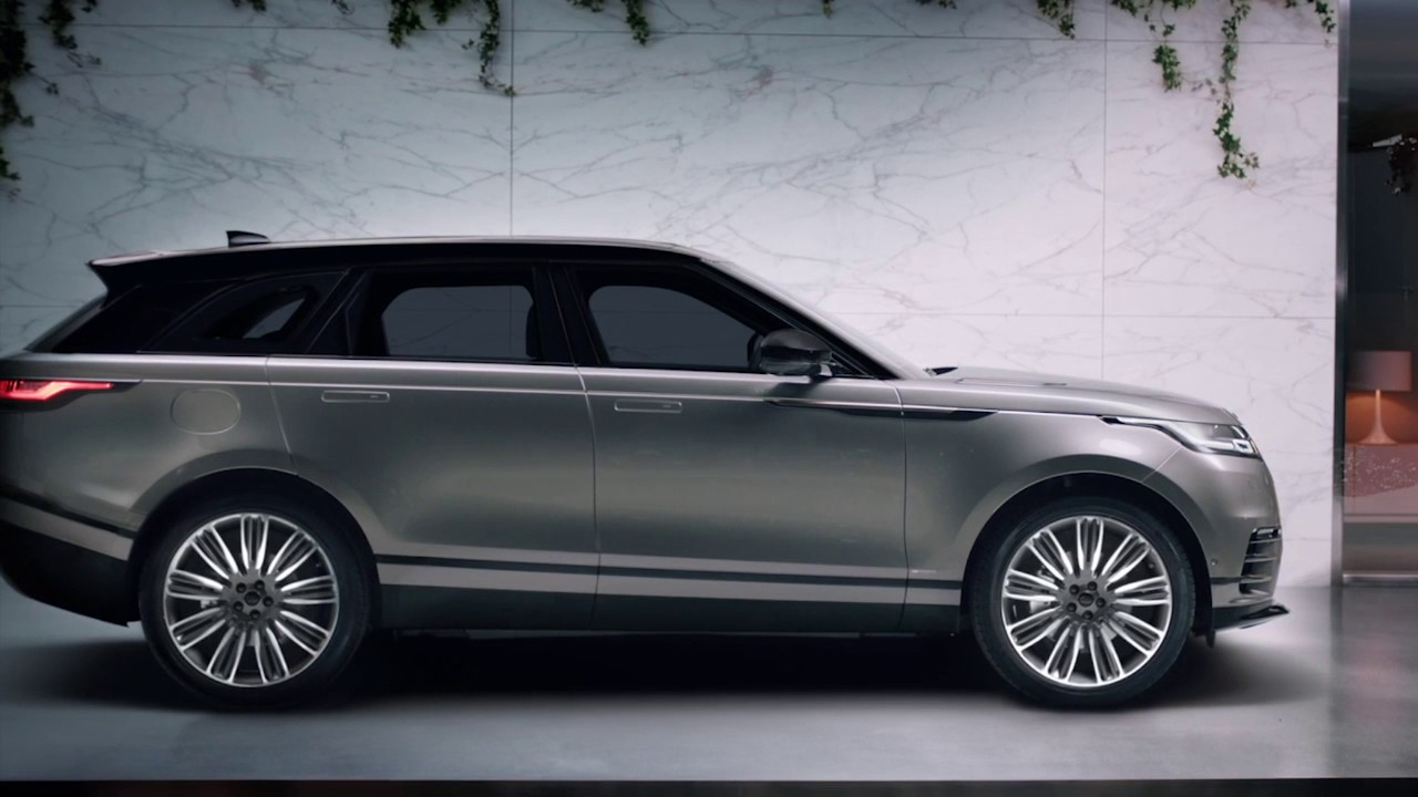 range rover velar o novo suv da land rover chega depois do ver o de 2017 youtube. Black Bedroom Furniture Sets. Home Design Ideas