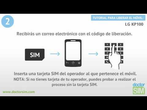 Liberar móvil LG KP100 | Desbloquear celular LG KP100