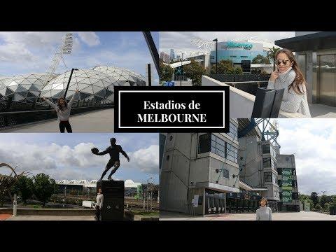 Estadios de MELBOURNE:  Open de Australia , Melbourne park, Hisense Arena,  Cricket ground