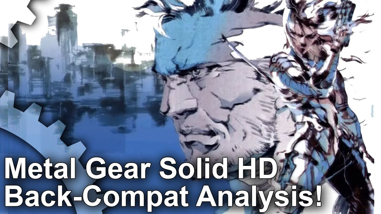 Metal Gear Solid HD back-compat for Xbox One is the best way