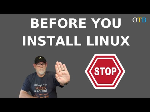 Before You Install Linux - STOP! Ask Yourself Some Questions First