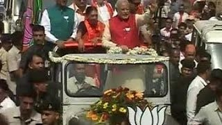Live: Narendra Modi files nomination in Vadodara after grand roadshow