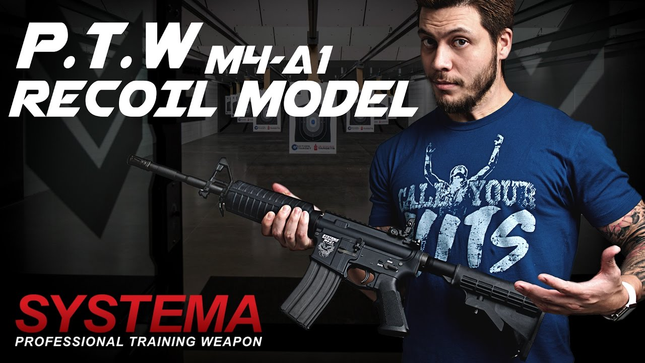 Shocking Systema Ptw Recoil Shock Redwolf Airsoft Rwtv Youtube