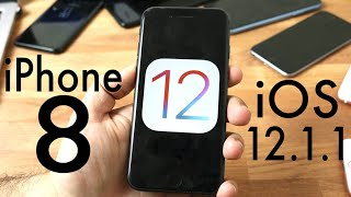 iOS 12.1.1 OFFICIAL On iPHONE 8! (Review)