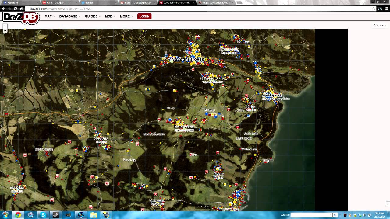 DayZ SA - How To Find Your Location - YouTube Dayz Sa Map on