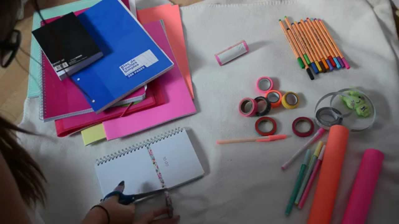 Super DIY : CUSTOMISER SES FOURNITURES SCOLAIRES | BeYourself - YouTube YI81