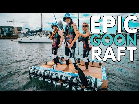 The Goon Raft: An Aussie Radio FIRST I Stav, Abby & Matt