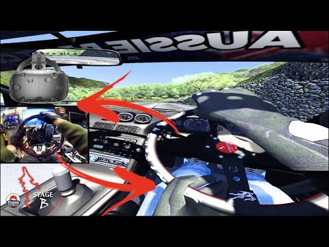 Drifting Fujimi Kaido in VR w/TRAFFIC!! - Assetto Corsa PC |