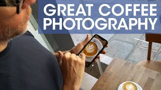 How To Take Great Coffee Photos for Instagram at Fringe Coffee Paris