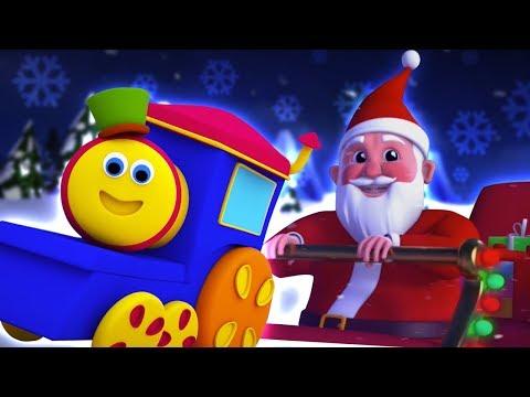 Bob el tren   cascabeles para niños   Navidad cancion   Jingle Bells Dance   Kids Tv Español